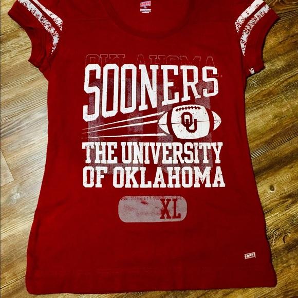 newest 3fad5 5ceba Boomer Sooners University of Oklahoma Tee Shirt